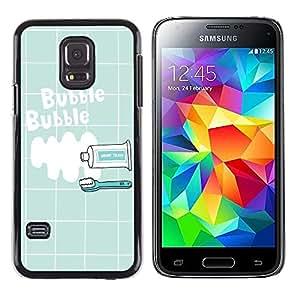Skull Market - FOR Samsung Galaxy S5 Mini, SM-G800 - So many fake people - Mano cubierta de la caja pintada de encargo de lujo