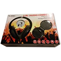Acquisition 3-in-1 Audio Combo Kit - Headphones, Earbuds & Portable Speakers - By Vibe Sound compare