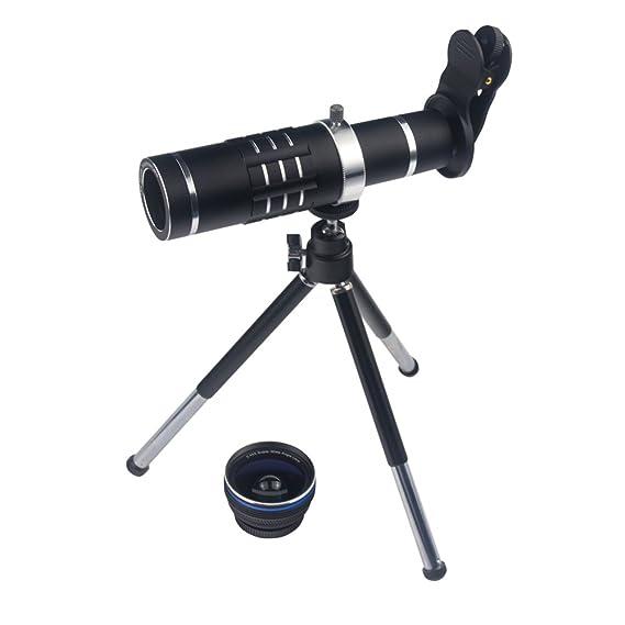d27a156da63488 Smart Phone Camera Lens 18X Telephoto Lens Optical Manual Zoom Telescope  Lens with Tripod and Clamp