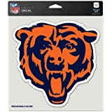 """Chicago Bears Primary Team Logo Die Cut Decal 8"""" x 8"""" (Colored)"""