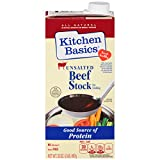 Kitchen Basics No Salt Beef Stock, 32 oz (Case of 12)