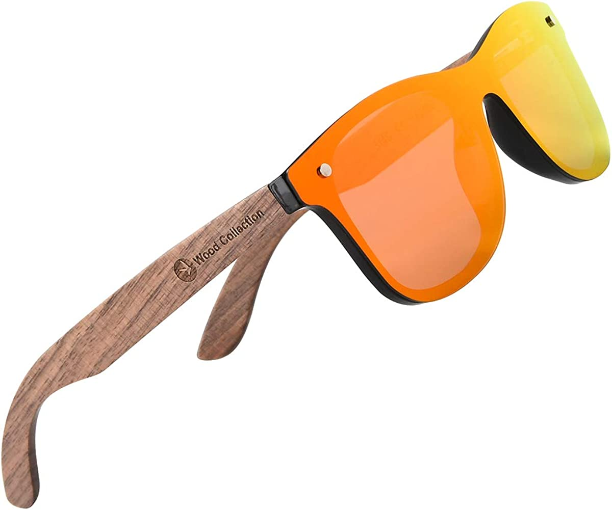 SKADINO Sunglasses For Men With Polarized Lens Handmade Bamboo Sunglasses For Men&Women