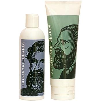 Ultra Beard Conditioner 8oz and Wild Berry Shampoo 8oz by Beardsley