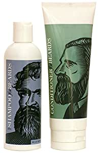 Ultra Beard Conditioner 8oz and Wild Berry Shampoo 8oz by Beardsley