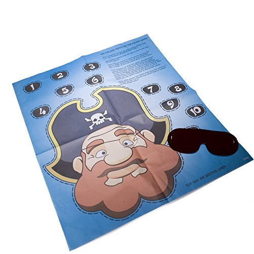 Party Game Pin Patch Pirate