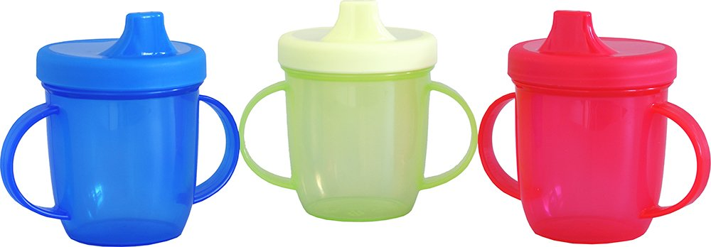 Sure Beauty Baby Toddlers First Drinking Training Cup 2 Handled Pack Of 6 SureBeauty