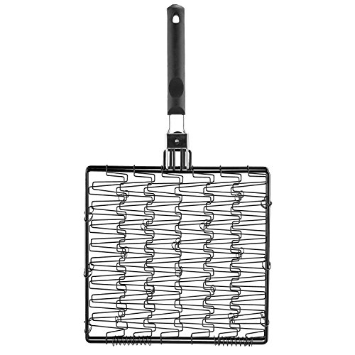 Flexible Grill Basket (Mr. Bar-B-Q 06620Y Non Stick Flexible Basket with Folding Handle)