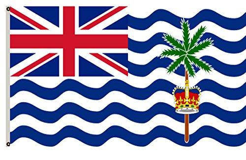 Fyon United Kingdom Banner The British Indian Ocean Territory Flag 2x3ft