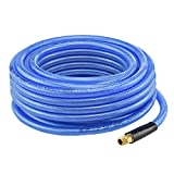 "Neiko 30924A Iron Flex Braided Polyurethane Air Hose, 3/8"" x 50'"