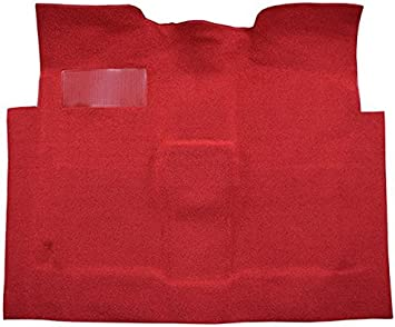 565-Bright Red 80//20 Loop ACC Replacement Carpet Kit for 1960 to 1966 Chevrolet Standard Cab Pickup Truck 2 WD Automatic 3in Low Tunnel