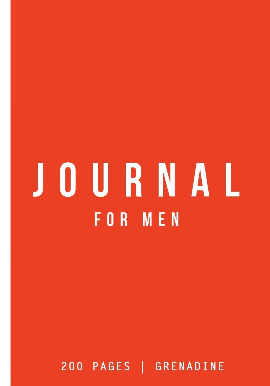 Read Online Journal For Men: Grenadine: Journal 7 x 10: Journal 200 Pages PDF