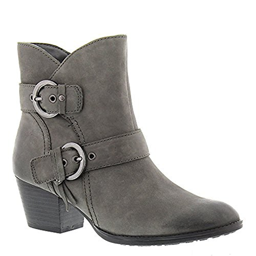 Earth Olive Womens Bootie, Dark Grey, Size - 7.5
