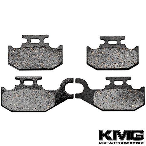 KMG 2008-2011 Suzuki LTA 750 King Quad 750 Axi Front Carbon Kevlar Organic NAO Disc Brake Pads