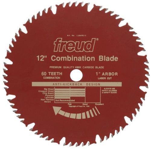 Freud LU84R012 12-Inch 60 Tooth ATB Combination Saw Blade...