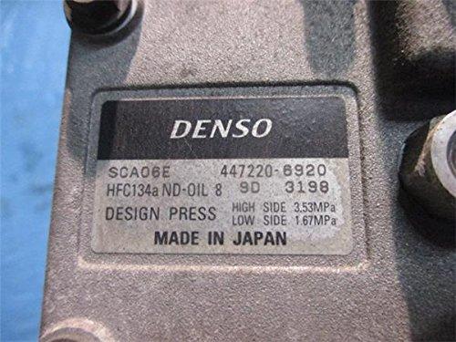 ダイハツ 純正 ハイゼット S200 S210系 《 S200V 》 エアコンコンプレッサー P81700-18004945