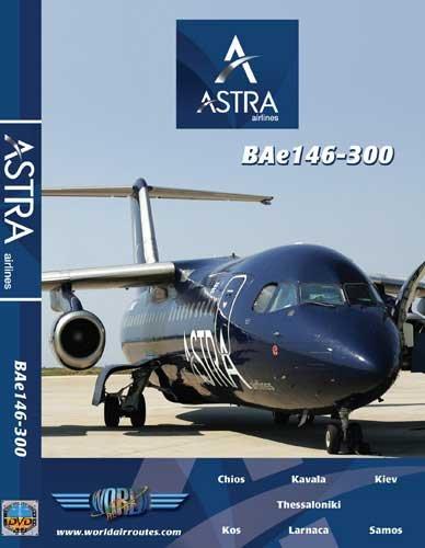 Astra Airlines Bae 146-300 (DVD); JPAZI1