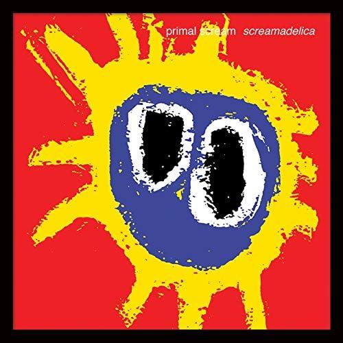 Primal Scream screamdelica Enmarcado clásico álbum Funda filmcell Factory,  Multicolor, 30,5 cm: Amazon.es: Hogar