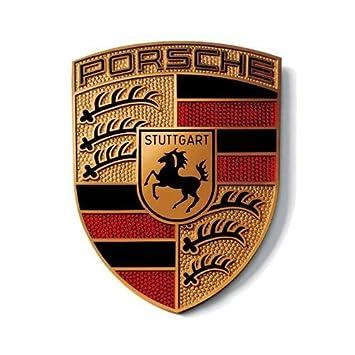 Porsche Crest Logo Large Sticker Genuine Product Amazon Car