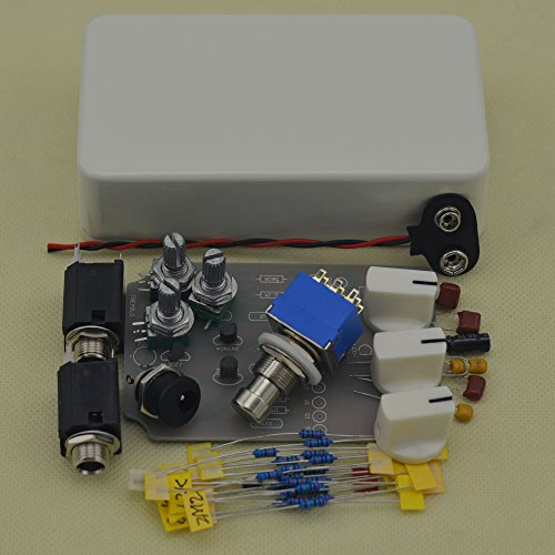 TTONE DIY Analog Tremolo Guitar Effects Pedal Stompbox Pedals Kit White by TTONE