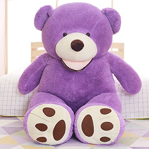 [YXCSELL 7.5 FT 94 Inches Purple Giant Teddy Bear Big Stuffed Animals Soft Plush Toys Gift for Girlfriend or] (Evil Teddy Bear Halloween Costume)