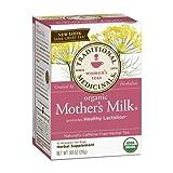 Traditional Medicinals Teas Organic Mother's Milk Té Leche de Madre Materna, 16 bolsitas de té por caja