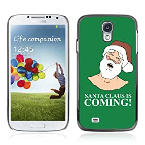CQ Tech Phone Accessory: Carcasa Trasera Rigida Aluminio Para Samsung Galaxy S4 i9500 - Funny Santa Is Coming
