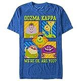 Monsters Inc Men's Oozma Kappa We're Ok Royal Blue Heather T-Shirt