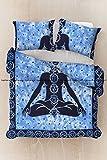 Indian Meditation Mandala Duvet Cover Queen size Blanket Duvet Cover Bedspread Bedding Without Comforter Cover (Multi)