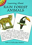 Learning about Rain Forest Animals, Sy Barlowe, 0486405354