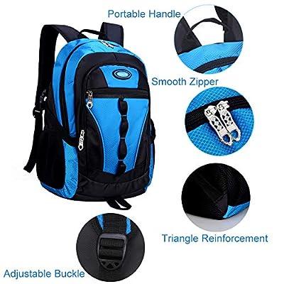 MATMO Boys Backpack, School Bag Casual Daypack Travel Backpack Student Book Bag (Ocean Blue) | Kids' Backpacks