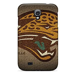 Fashion Tpu Case For Galaxy S4- Jacksonville Jaguars Defender Case Cover