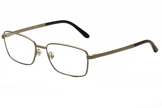 Versace Montures de lunettes Pour Homme 1227 - 1351  Matte Gunmetal - 55mm 92db58309aa8