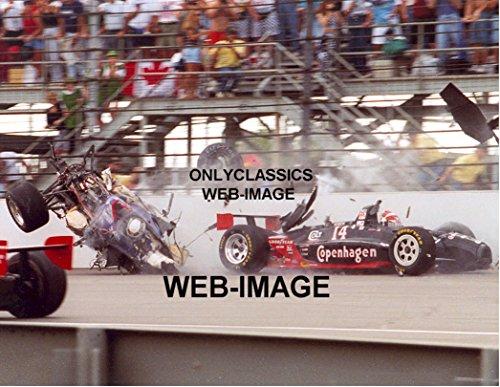 OnlyClassics 1995 Stan Fox AJ FOYT INDY 500 Wild Crash Race CAR Photo#2 Indianapolis Speedway