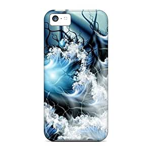 Awesome Wave 907 Flip Cases With Fashion Design For Iphone 5c