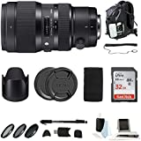Focus Camera Sigma 50-100mm /1.8 DC HSM Art Lens or Nikon Mounts w/Accessory Bundle