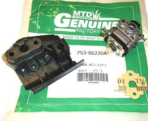 Lawnmowers Parts 753-06220 Original MTD Carburetor Assy. G>208