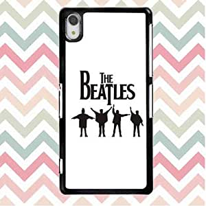 Dust-Proof Phone Funda Carcasa Case For Sony Xperia Z2 The Beatles Band Sony Xperia Z2 Personalized Case