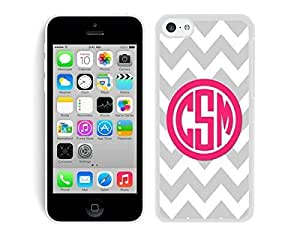Case,Iphone,Amazon,Belt Clip and Case Combo,Personalized Black Chevron Red Monogra iphone 5c Case White Cover