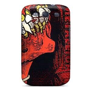 New Fashion Premium Tpu Case Cover For Galaxy S3 - Metallica