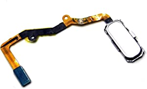Lysee Mobile Phone Flex Cables - Home Button and Fingerprint Scanner Flex Cable Ribbon for Samsung Galaxy S7 Edge SM-G935 G935F - (Color: Gold)