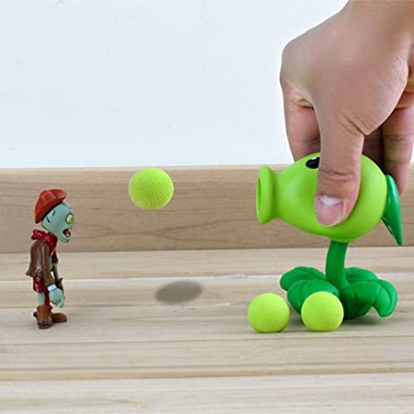 New Popular Game PVZ Plants vs Zombies Peashooter PVC Action Figure Model Toys 5 Style 10CM