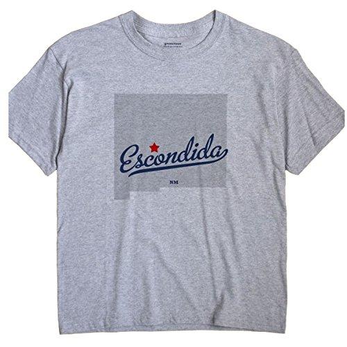 escondida-new-mexico-nm-map-greatcitees-unisex-souvenir-t-shirt