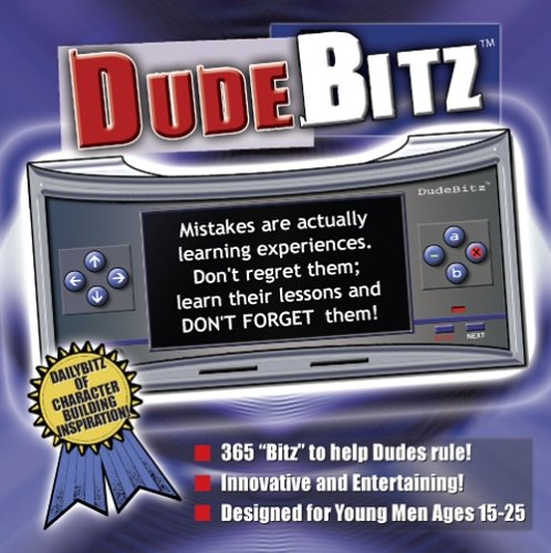 DudeBitz - Important Information for Teen and Young Adult Boys - A Computer Application that delivers