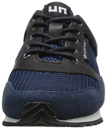 navy Runner Nude Sneaker Black United Fashion Women's WqBcZY6H