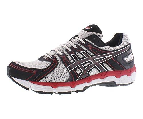 ASICS Men's GEL-Oracle Running Shoe,White/Black/Red,11 4E US