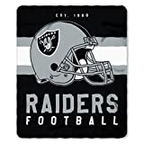 The Northwest Company NFL Oakland Raiders Singular 50-inch by 60-inch Printed Fleece Throw