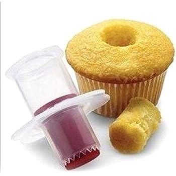 1Pcs Cupcake Cake Corer Plunger Cutter Pastry Decorating Divider Filler Model