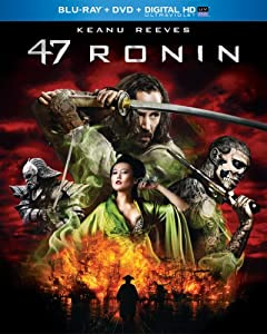 Cover Image for '47 Ronin (Blu-ray + DVD + Digital HD with UltraViolet)'