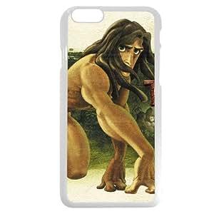 "Customized White Hard Plastic Plastic Disney Cartoon Tarzan iPhone 6 4.7 Case, Only fit iPhone 6 4.7"""