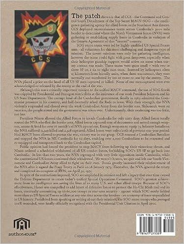 Amazon.com: Secret Green Beret Commandos In Cambodia: A Memorial History of MACVSOGs Command and Control Detachment South (CCS) And Its Air Partners, ...